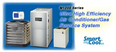Maytag M1200 Series Ultra High Efficiency Air Conditioner / Gas Furnace System